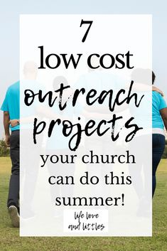 7 Low Cost Outreach Projects Your Church Can Do This Summer. Ideas for ministry … 7 Low Cost Outreach Projects Your Church Can Do This Summer. Ideas for ministry you can do outside! Church Ministry, Youth Ministry, Young Adult Ministry, Womans Ministry Ideas, Church Fellowship, Church Outreach, Mission Projects, Kids Church, Church Ideas