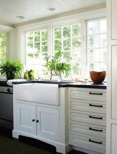 i love big farm house style sinks