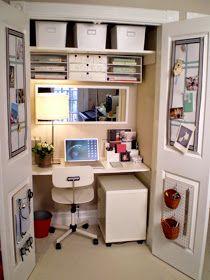 despacho oculto en armario