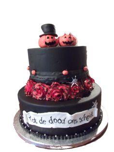 halloween taart