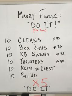 Wod From The Garage Fitness Crossfit Crossfit Wods, Crossfit At Home, Wod Workout, Gym Workouts, At Home Workouts, Kettlebell Training, Sweat It Out, I Work Out, Fitness Motivation