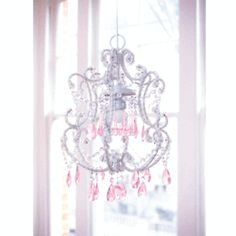 girly chandelier