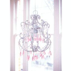girly chandelier