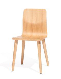 TON Malmö -tuoli. Useita värejä.