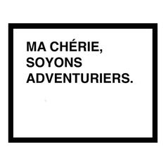 oh darling lets be adventurers screen print french  by fifiduvie, $40.00