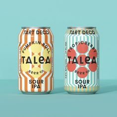 """Mindsparkle Mag on Instagram: """"IWANT @iwantdesign design designed Talea Beer Co. – a New York based, women led, craft beer start-up. IWANT design have created the…"""" Bakery Packaging, Beverage Packaging, Packaging Design, Booze Drink, Drinks, Design Food, Design Design, Print Finishes, Wine And Spirits"""