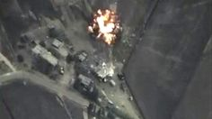 Russia's Armed forces staff said Wednesday that Russian air force carried out air raids against oil sites for ISIS terrorist organization, destroying 500 oil tanks that were smuggling oil from Syria to Iraq.