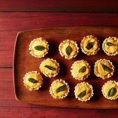Butternut Squash-Goat Cheese Bites