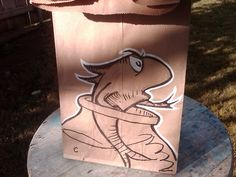 "The Superego Fish   lunchbagart.tumbl...    ""I draw on my kids' lunch bags. I'm the dad. I make these during my lunch break."""