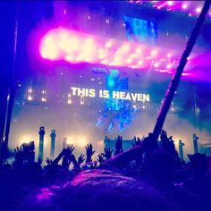 :') My definition of Heaven Ultra Festival, Rave Festival, Edm Music, Dance Music, Rock Roll, Concert Quotes, Tomorrowland Festival, Animal Print Background, Electro Music