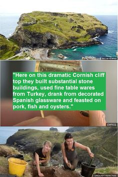 Cornish kings feasted on oysters and fine wine, archaeologists find. English Heritage, Cornwall England, Take Me Home, Interesting History, Fine Wine, History Facts, Anthropology, Ancient History, Ancestry