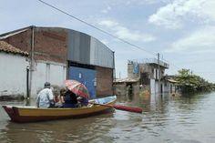 Mais de 170 mil são afetados por inundações na A. do Sul (foto: EPA)
