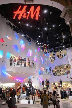 The fabulous H&M store, Caesars Forum Shops, Las Vegas