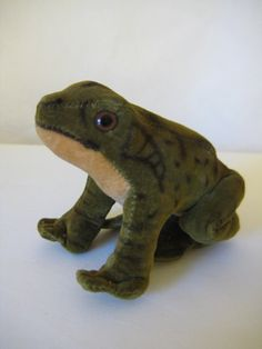 Steiff Vintage Velvet Froggy Frog Frosch - 8 cm - Ready for Spring - Hop to it and check him out! Vintage Velvet, Green Velvet, Etsy App, All Pictures, Puppets, Dinosaur Stuffed Animal, Two By Two, Spring, Shop