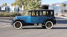 1926 Hupmobile Limousine 211/60 HP, Coachwork by Murray presented as lot S4.  #Mecum #RogersCCMuseum