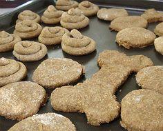 peanut butter doggie treats