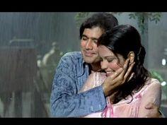 Bheegi Bheegi Raaton Mein - Ajanabee - Rajesh Khanna, Zeenat Aman - Superhit Romantic Rain Song - YouTube