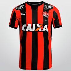 Vamos levantar as arquibancadas do Barradão com a Camisa Puma Vitória I  2015 s nº 00b921ea5bf70
