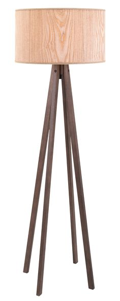 Finally, a lamp that goes against the grain. Our Sawyer Floor Lamp features a wood-inspired lamp shade and four dark wooden legs. This earthy design is a clever way to add a rustic finish and a touch o...  Find the Sawyer Floor Lamp, as seen in the A Modern Bohemian Abode Collection at http://dotandbo.com/collections/a-modern-bohemian-abode?utm_source=pinterest&utm_medium=organic&db_sku=120942