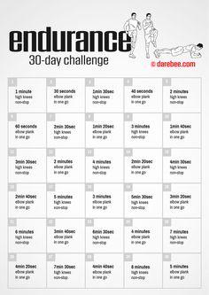 endurancechallenge by darebee procrastination 30 day Fitness Workouts, Fitness Herausforderungen, Soccer Workouts, At Home Workouts, Fitness Motivation, Sprinting Workouts, Rugby Workout, Fitness Music, Video Fitness