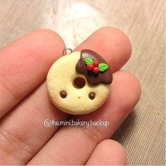 Christmas donut charm