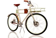 Faraday Porteur - electric propelled utility bicycle