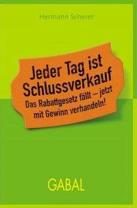 Hermann Scherer: Jeder Tag ist Schlussverkauf