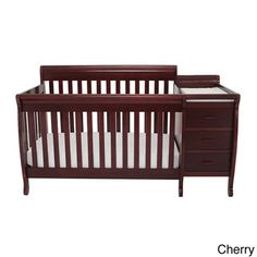 Mikaila Milano 3-in1 Convertible Crib with Toddler Rail - Overstock™ Shopping - Great Deals on AFG Baby Furniture Cribs