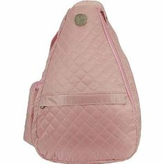 "Jet Pac Pink Ritz Sling Tennis Bag by Jet. $61.99. The Jet Pac PInk Ritz Sling Tennis Bag Features:Tennis bag with one strapCell phone holder on shoulder strap3 interior compartments to hold extras3 exterior zipper pouches and side pouchGreat for holding racquets and other essentialsDimensions: 20""(H) x 12""(W) x7""(D)"