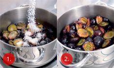 Povidla bez míchání | Apetitonline.cz Canning Food Preservation, Preserving Food, Canning Recipes, Fruit Salad, Preserves, Sprouts, Potato Salad, Potatoes, Vegetables