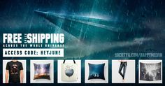Free Shipping Across The Universe Today!