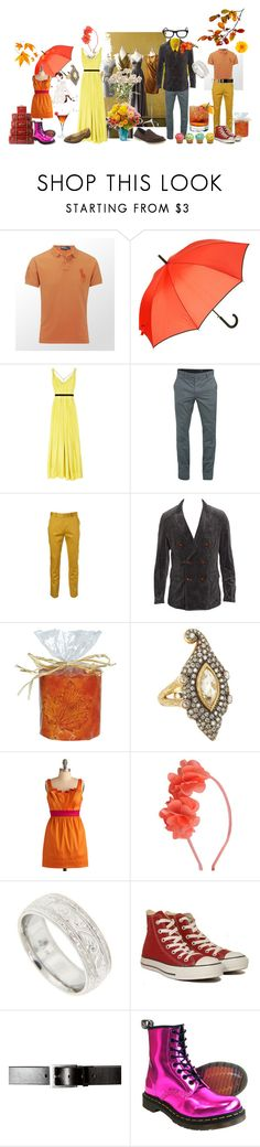 """Feilds of Gold (Mom 5)"" by verysmallgoddess ❤ liked on Polyvore featuring Martha Stewart, Ralph Lauren, South Beach, Oxford, Matthew Williamson, A.P.C., Topman, Crocs, Cathy Waterman and Guide London"