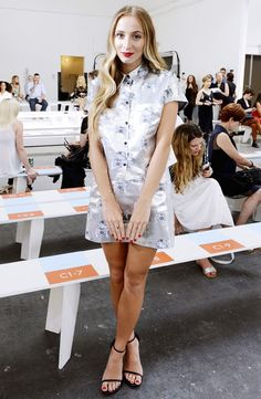 Your Front-Row Access To NYFW's Chicest Looks via @WhoWhatWear