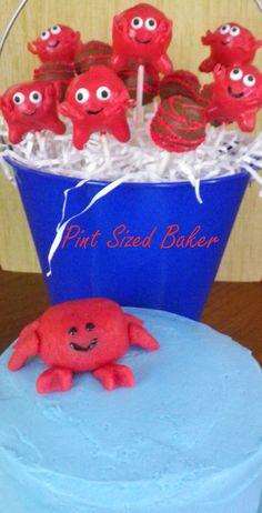 Crab Smash Cake and Cake Pops!