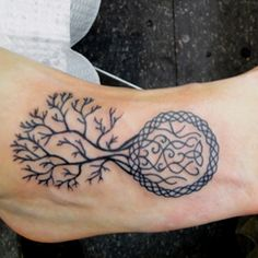 tree of life with a Celtic knot in the roots. very Irish.