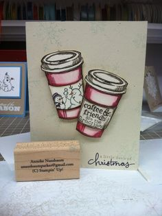 Stampin Up card... Perfect Blend LOVE IT! :)