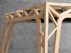 Voici un bureau pensé par PUPSAM (David Puel et Thomas Libé) et réalisé par l'ébéniste Yves BRAND'HONNEUR. J'aime…