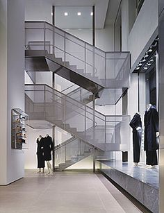 Image result for architecture renzo piano balustrade staircase