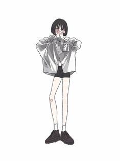 25 Ideas for fashion girl cartoon outfit Cartoon Kunst, Cartoon Art, Cute Illustration, Character Illustration, Anime Korea, Cartoon Outfits, Korean Art, Anime Art Girl, Character Design Inspiration