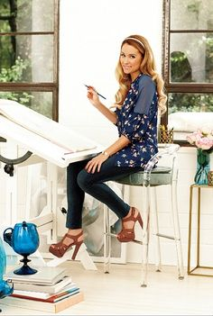 Besides the heels...love Lauren Conrad & I want her hair!!!