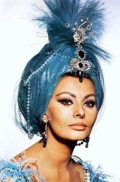 Sophia Loren in Arabesque directed by Stanley Donen, 1966