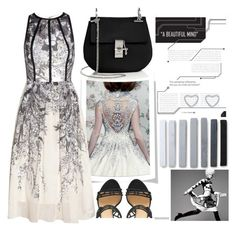 """A Beautiful Mind"" by cherieaustin ❤ liked on Polyvore featuring Lela Rose, Dsquared2, Chloé, New Look, chloe, newlook, LelaRose and dsquared2"