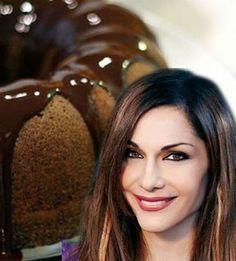 Light chocolate cake - needs translation Greek Sweets, Greek Desserts, Greek Recipes, Fun Desserts, Cake Frosting Recipe, Frosting Recipes, Cake Cookies, Cupcake Cakes, Food Cakes