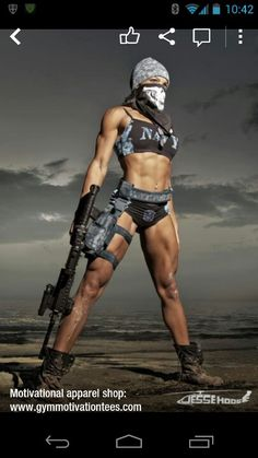 Holy shit! Bad ass military women!