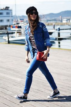 Sailor outfit with converse