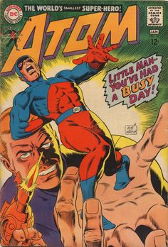 Atom #34 (January 1968) - Cover by Gil Kane and Murphy Anderson