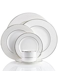 Lenox Dinnerware, Venetian Lace Collection - Fine China - Dining & Entertaining - Macy's
