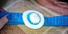 Diadema con sombrerito / Hairband with a little hat #ganchillo #crochet #manualidades #hazlotumismo #hechoamano #handmade #doityoursel #diy