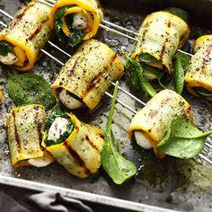 Zucchini Spieße