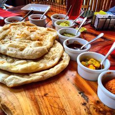 Naan bread service at Sanaa... Lunch doesn't get much better than this #disney #DisneyDining #wdw #waltdisneyworld